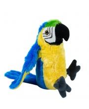Мягкая игрушка Сине-жёлтый ара 33 см