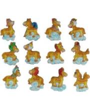 Магнит Лошадь Знак зодиака 8 см в ассортименте