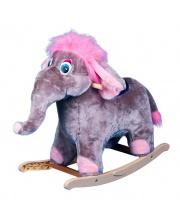 Качалка Слон мягкая