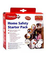 Набор защиты двери от захлопывания, 24 шт. Clippasafe