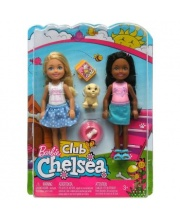Кукла Семья Barbie Челси 2 шт в наборе