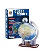 Пазл Глобус 3D 47 деталей S+S Toys