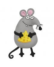 Мышонок с Сыром 33 см Maxitoys Antistress