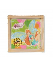 Кубики Winx 4 шт
