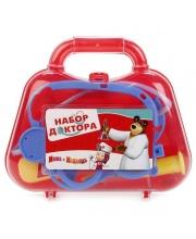 Набор Доктора Маша и Медведь в чемодане в ассортименте Играем Вместе