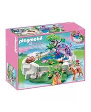 Конструктор Замок кристалла. Волшебное озеро Playmobil