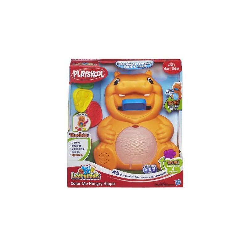 Playskool Развивающая игрушка Бегемотик