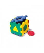 Мозаика Мягкая Кубик с Геометрическими Фигурами