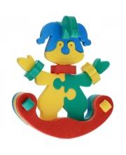 Конструктор Клоун-качалка в ассортименте Флексика