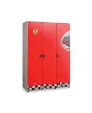 Трехстворчатый шкаф Racecup Cilek