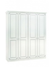 Четырехдверный шкаф Selena
