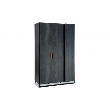 Товары для дома, Трехстворчатый шкаф Dark Metal Cilek (черный), фото