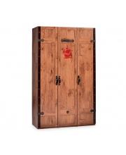 Трехстворчатый шкаф Black Pirate