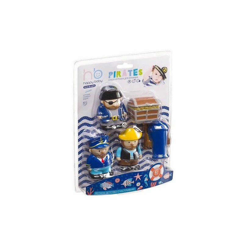 Happy Baby Набор для ванны Пираты