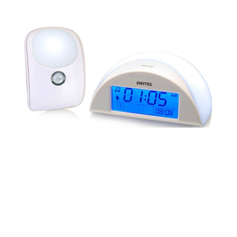 Switel Ночник детский автоматический с функцией радионяни BC110 автоматический детский ночник с функцией радионяни switel bc110