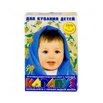 Гигиена, Соль для ванны детская Череда 500 г Карапуз 628767, фото