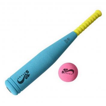 Игрушки, Бита бейсбольная SafSof (голубой)630713, фото