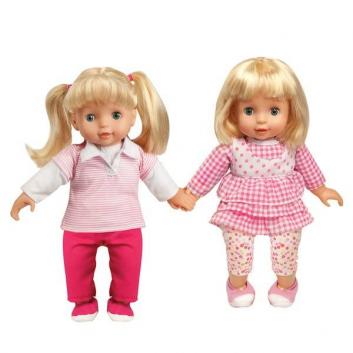 Набор из двух интерактивных кукол