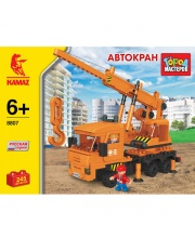 Конструктор Камаз-Автокран 245 деталей