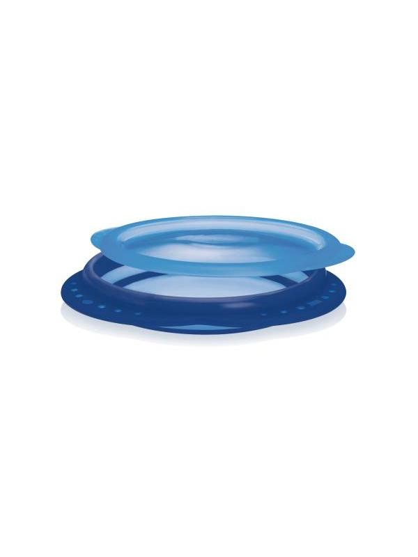 Тарелка Nuk (голубой)