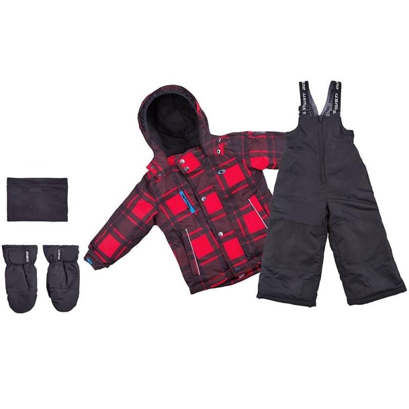КомплектКомплект куртка + полукомбинезон + варежки + манишка красногоцвета марки Gusti серии Boutique длямальчиков.<br>Теплый комплект позволит мальчику в полной мере наслаждаться прогулками и спортом на свежем зимнем воздухе. Набор не сковывает движений благодаря практичному крою. В основе изделий – плотная водонепроницаемая ткань (5000 мм), дополненная мембраной, которая позволяет коже дышать, но не дает ребенку замерзнуть. Курточка из комплекта утеплена флисовой подкладкой и практичными резинками, которые защищают руки, шею и спинку ребенка от переохлаждения. Куртка дополнена удобным капюшоном. Также куртка имеет множество полезных деталей: внешние и внутренние карманы, специальная застежка, которая защищает шею от холода, надежные манжеты с клапаном, защиту от расстегивания молнии и многое другое. Защитная юбка от снега на эластичной тесьме не пропускает холодный воздух снизу.<br>Полукомбинезон застегивается с помощью молнии, на талии хорошо фиксируется и прилегает к телу, не пуская холод, благодаря резинке. Это изделие с регулируемым лямками подшито износостойкими элементами - ребенок может спокойно заниматься активными видами спорта, не боясь падений. Комплект выполнен в яркой модной расцветке. Такой наряд легко прослужит мальчику не один сезон.<br>Состав:верх - таслан,подкладка - флис,утеплитель - полифилл.Легкие загрязнения удаляются влажной губкой.<br><br>Размер: 6 лет<br>Цвет: Красный<br>Рост: 116<br>Пол: Для мальчика<br>Артикул: 633365<br>Сезон: Осень/Зима<br>Состав: 100% Полиэстер<br>Состав подкладки: 100% Полиэстер<br>Бренд: Канада<br>Наполнитель: 100% Полиэстер<br>Покрытие: Полиуретан<br>Температура: до -30°