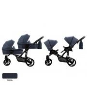 Детская коляска для двойни 2 в 1