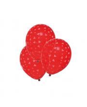 Шары воздушные Сердечки 6 шт Susy Card