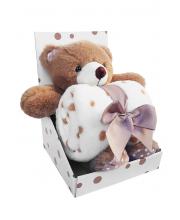 Набор Плед + игрушка Bear Uviton