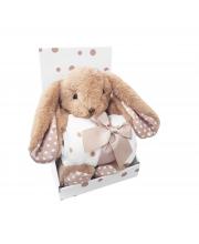 Набор Плед + игрушка Bunny