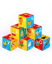 Кубики Три Кота алфавит Мякиши