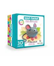 Набор для творчества 3D лепка Мышка Шар-папье