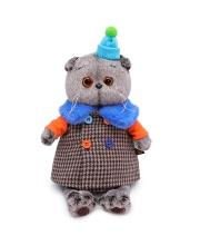 Мягкая игрушка Басик в комбинированном пальто 22 см BUDI BASA