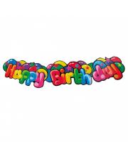 Гирлянда Happy Birthday 13 м