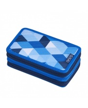 Пенал 31 предмет Blue Cubes