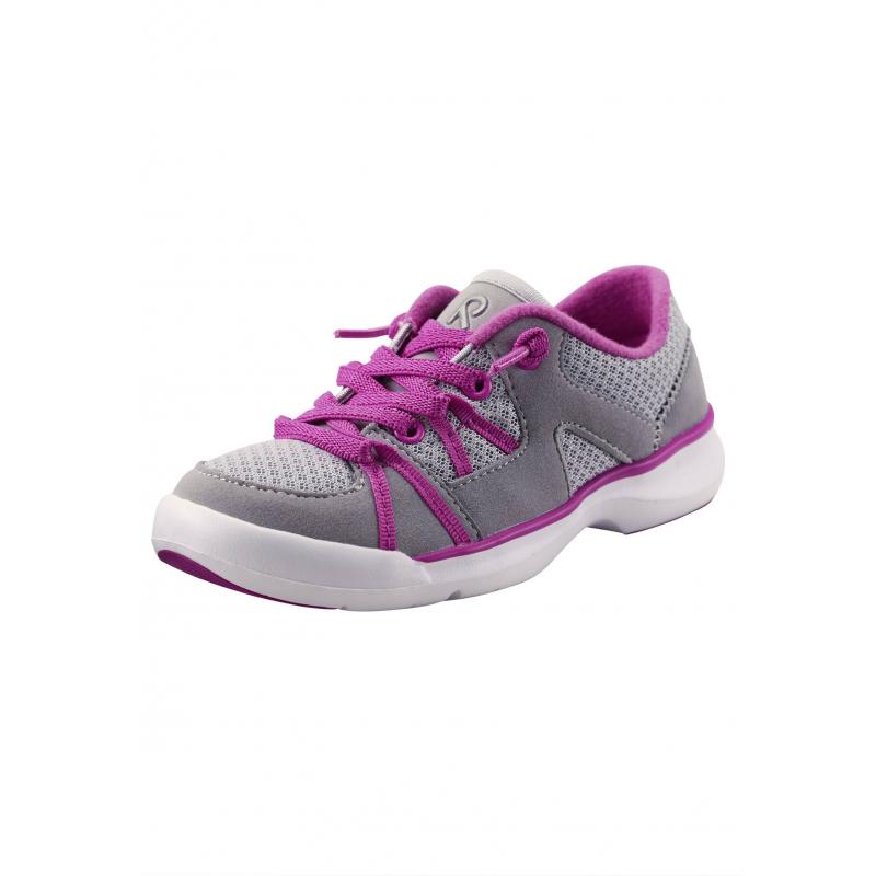 КроссовкиКроссовки серогоцвета марки Reima для девочек.<br>Кроссовки на эластичной шнуровке дополнены дышащими вставками,а также декорированы элементами малиновогоцвета.Кроссовкиимеют светоотражающие детали для безопасности ребенка в темное время суток.Прочная рельефная подошва из каучука и резины легкая и не скользит.<br><br>Размер: 33<br>Цвет: Серый<br>Пол: Для девочки<br>Артикул: 640059<br>Страна производитель: Китай<br>Сезон: Весна/Лето<br>Материал верха: Полиэстер, Полиуретан<br>Материал стельки: Текстиль<br>Материал подошвы: ЭВА (каучук) / Резина<br>Коллекция: 2016<br>Бренд: Финляндия<br>Тип: Лето<br>Серия: Reima