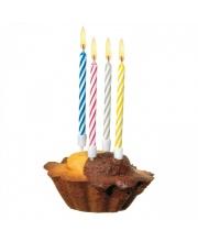 Свечи для торта Happy Birthday Magic 10 штук Susy Card