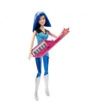 Кукла с музыкальными инструметами Барби Рок-принцесса