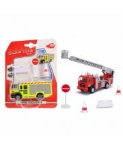 Пожарная машинка MAN 12см со свободным ходом в ассортименте
