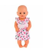 Одежда для кукол 40-42 см платье розы