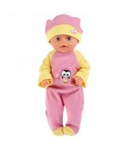 Одежда для кукол Карапуз 40-42см теплый комбинезон и шапочка