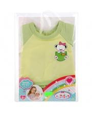 Одежда для кукол Карапуз 40-42см костюм футболка и шорты медвежонок
