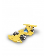 Конструктор Hamacron Mini Racer YELLOW 42 деталей LAQ