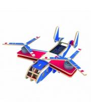 Деревянные 3D пазлы Вертолет-самолет BELL V-22 OSPREY Robotime
