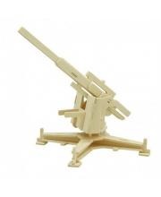Деревянные 3D пазлы Зенитная установка 32 детали Robotime