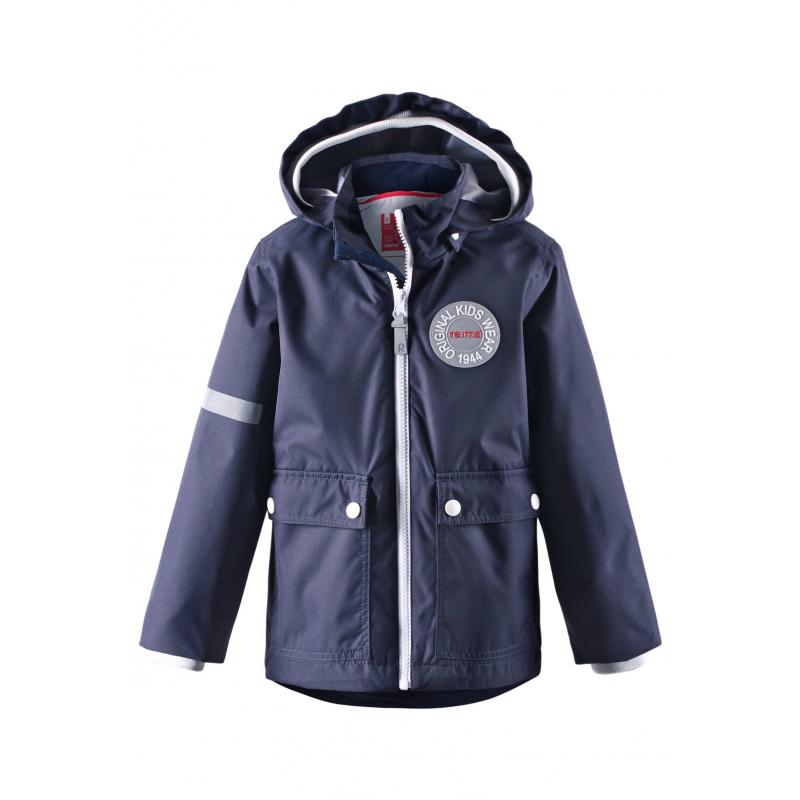 КурткаКуртка темно-синегоцвета марки REIMA для мальчиков.<br>Курткавыполнена из водоотталкивающего и ветронепроницаемого материала с грязеотталкивающими свойствами.Куртка со съемной утепленной жилеткой выполнена в насыщенномцвете, имеет съемный капюшон на кнопках, спереди дополнена накладными карманами. Манжеты на резинках обеспечивают плотное прилегание и защищают от ветра, также защитная резинка имеется на капюшоне. Светоотражающие детали на куртке обеспечивают безопасность в темное время суток.<br><br>Размер: 10 лет<br>Цвет: Темносиний<br>Рост: 140<br>Пол: Для мальчика<br>Артикул: 639958<br>Страна производитель: Китай<br>Сезон: Весна/Лето<br>Коллекция: 2016<br>Состав: 100% Полиэстер<br>Состав подкладки: 100% Полиэстер<br>Бренд: Финляндия<br>Вид застежки: Молния<br>Наполнитель: 100% Полиэстер<br>Покрытие: Полиуретан<br>Температура: до -10°<br>Тип: Демисезон<br>Серия: Reima