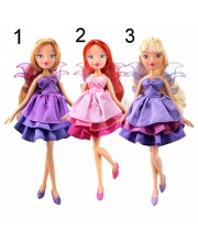 Кукла Winx Club Волшебное платье 3 шт в ассортименте