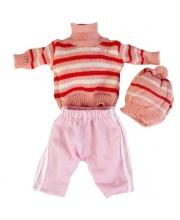 Одежда 40-42 см Штаны Теплая кофта Шапочка