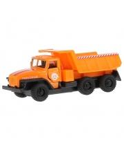 Машина Технопарк САМОСВАЛ оранжевая кабина 12СМ Технопарк