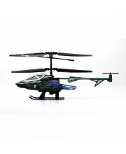 3-х канальный вертолет Heli Sniper 2 со стрелами зеленый