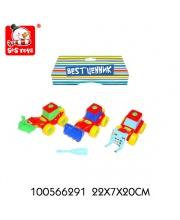 Спецтехника-конструктор S+S Toys